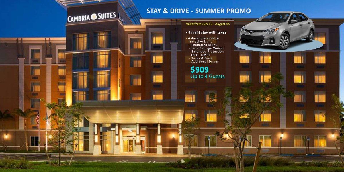MIA - Hotel + Minivan/SUV